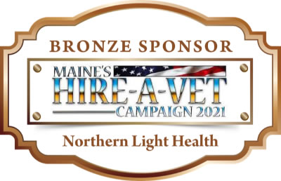 This is the sponsor medallion for Northern light health.