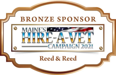 This is the sponsor medallion for reed and reed.