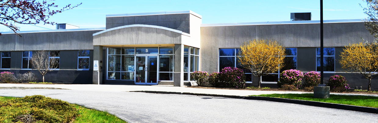 Entrance to the Lewistona Career Center